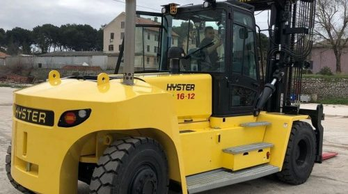 Isporuka novih viličara Hyster H16XM-12 i H5.0FT