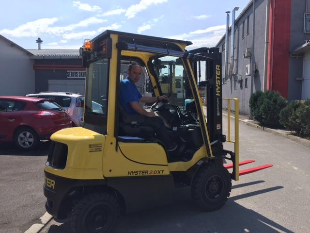 Novi diesel viličar Hyster za novog kupca, Sato d.o.o.