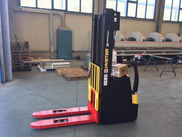 Visokopodizni elektro viličar Hyster S1.6AC isporučen u Lim-Mont d.o.o.
